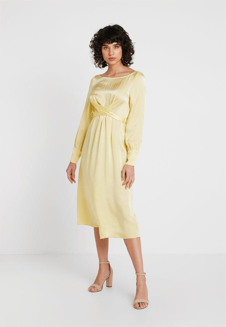 Ghost - CASSIE DRESS - Cocktail dress / Party dress - lemon