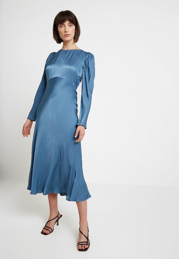 Ghost - ROSALEEN DRESS - Maxi šaty - steel