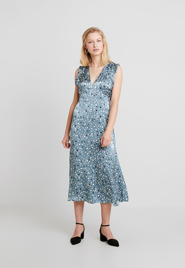 KAYLEE DRESS - Denní šaty - blue