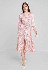 Ghost - MARLEY DRESS - Maxi šaty - light pink - 2