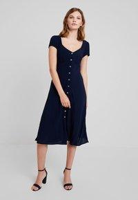 Ghost - LEONA DRESS - Shirt dress - navy - 2