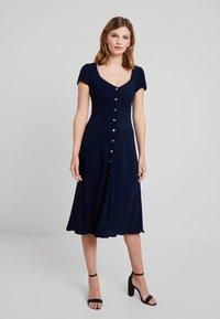 Ghost - LEONA DRESS - Shirt dress - navy - 0
