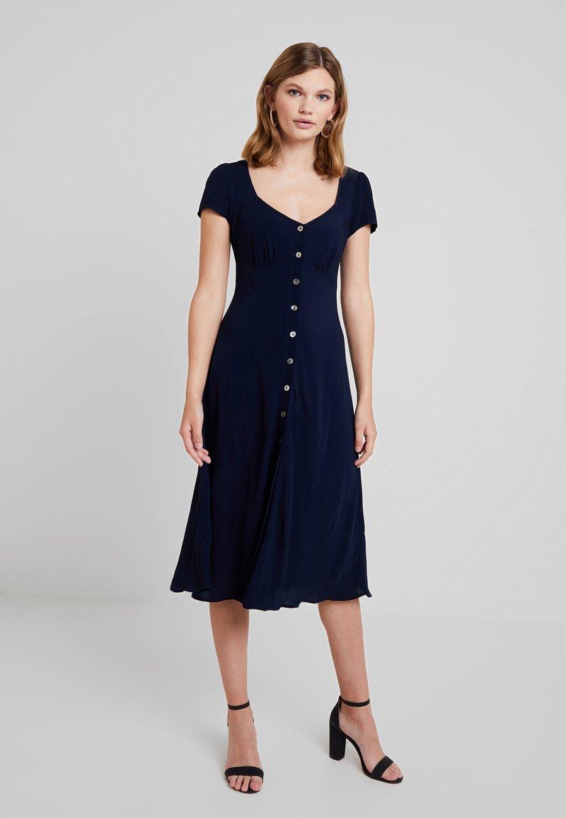 Ghost - LEONA DRESS - Shirt dress - navy