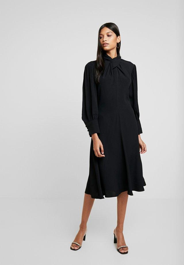 BIENNA DRESS - Denní šaty - black