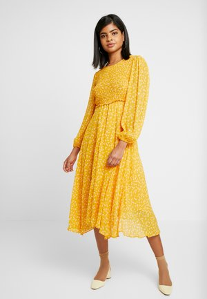 MARGAUX DRESS - Korte jurk - yellow
