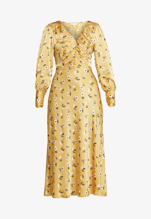 NOA DRESS - Day dress - dark yellow