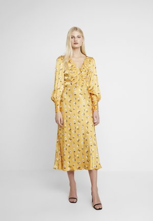 NOA DRESS - Vapaa-ajan mekko - dark yellow