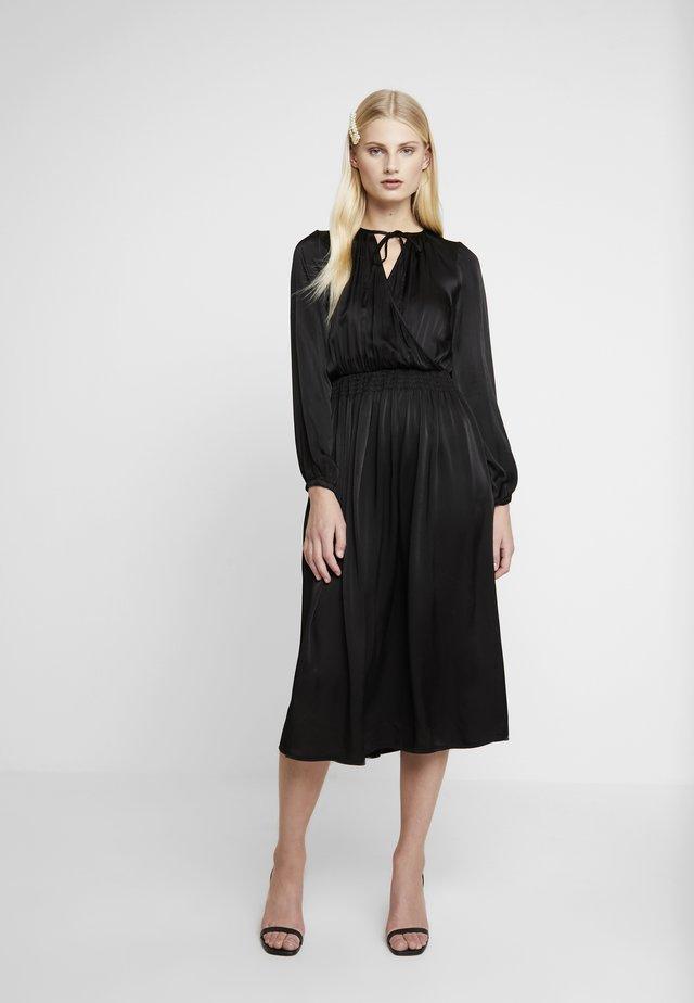JULIETTE DRESS - Vapaa-ajan mekko - black