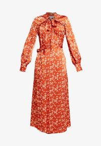Ghost - LYN DRESS - Košilové šaty - orange - 5