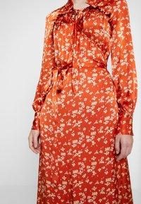 Ghost - LYN DRESS - Košilové šaty - orange - 6
