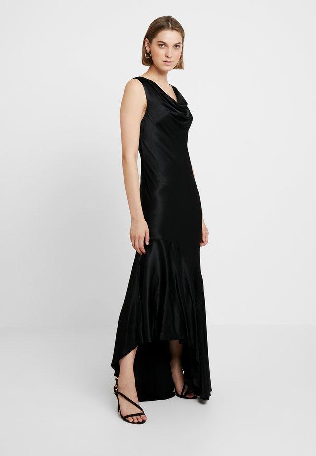 DARCEY DRESS - Společenské šaty - black