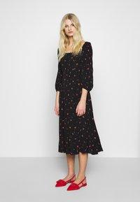 Ghost - JOY DRESS - Day dress - black - 0