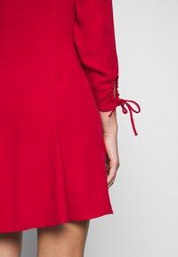 Ghost - CHARLINE DRESS - Skjortekjole - chilli paper - 4