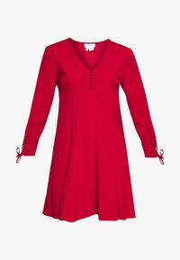 Ghost - CHARLINE DRESS - Skjortekjole - chilli paper - 5