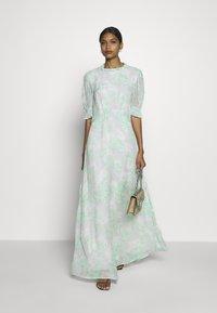 Ghost - ALICIA DRESS BRIDAL - Vestido de fiesta - turquoise - 1