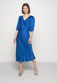 Ghost - LOWA DRESS - Vestido de cóctel - blue - 0
