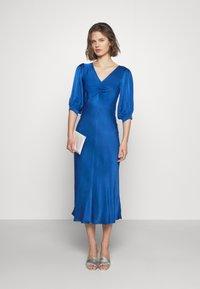 Ghost - LOWA DRESS - Vestido de cóctel - blue - 1