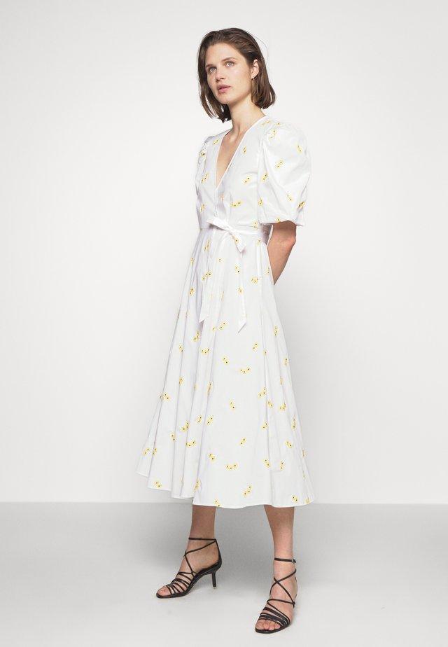 LUCINDA DRESS - Korte jurk - white