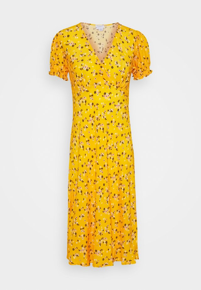 JEMIMA DRESS - Korte jurk - dark yellow