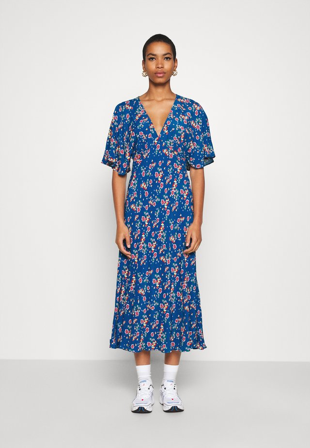 TESSIE DRESS - Maxi dress - blue