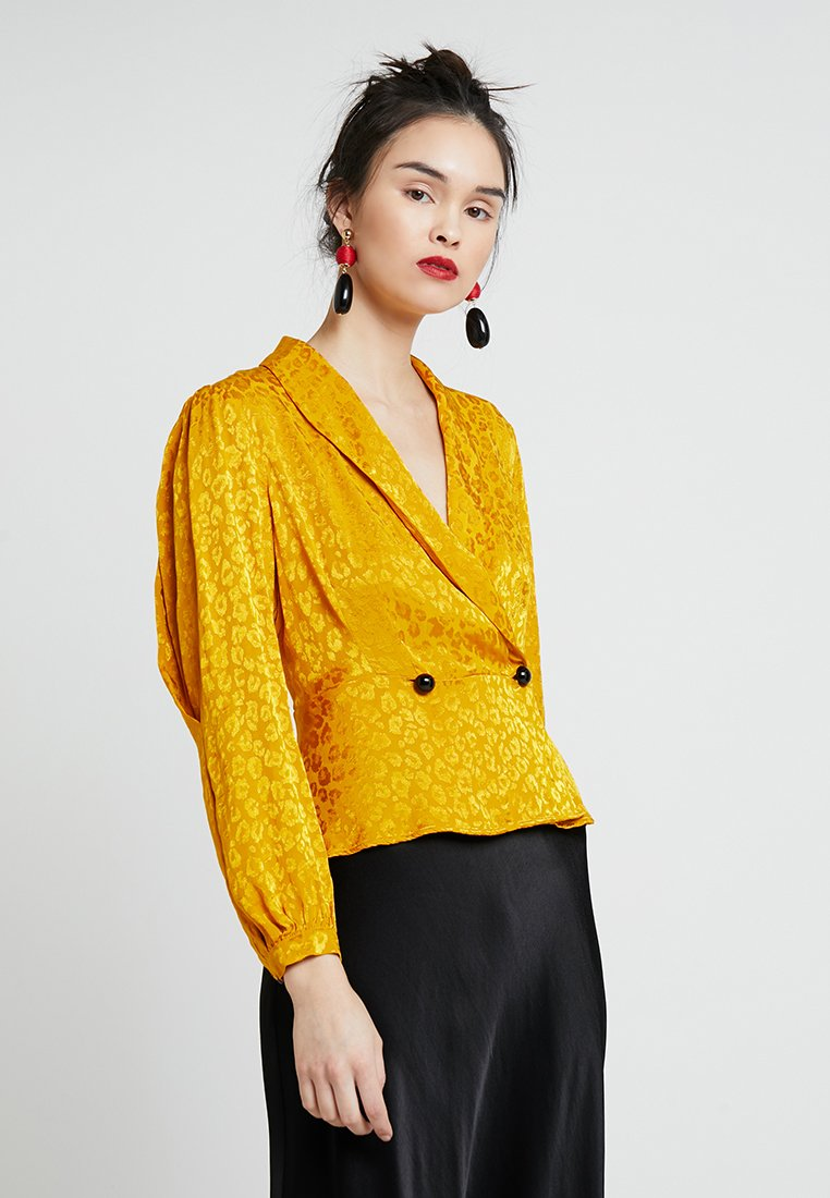 Ghost - MATILDA BLOUSE - Blouse - gold