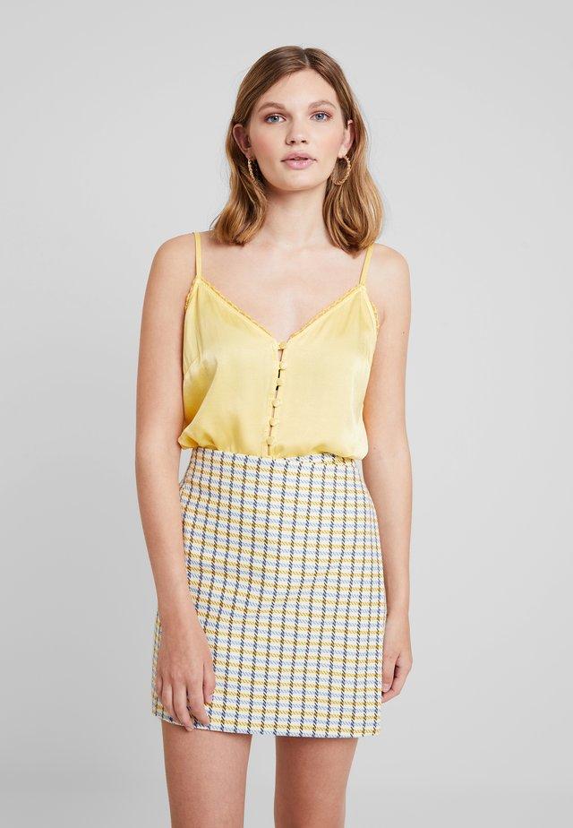 IRIS CAMI - Débardeur - yellow