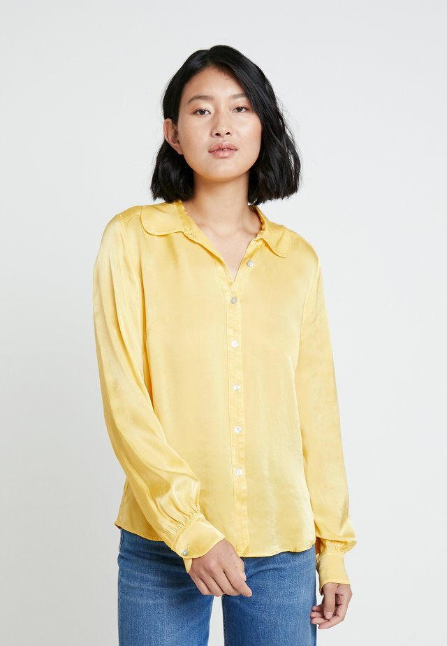 DAISY - Button-down blouse - yellow