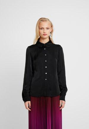 DAISY - Button-down blouse - black