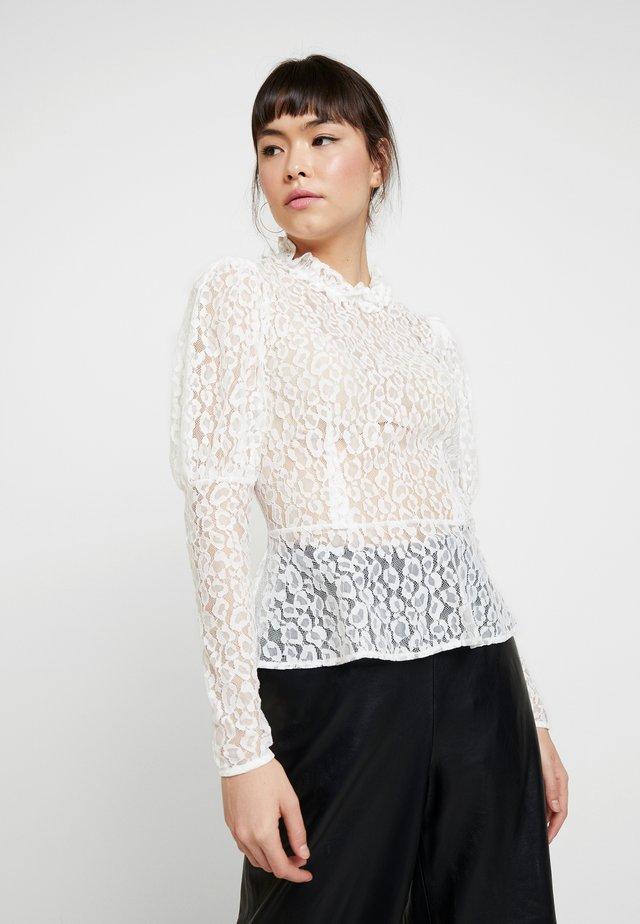 LECIE - Blus - white