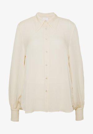 BLOUSE - Skjorte - ivory