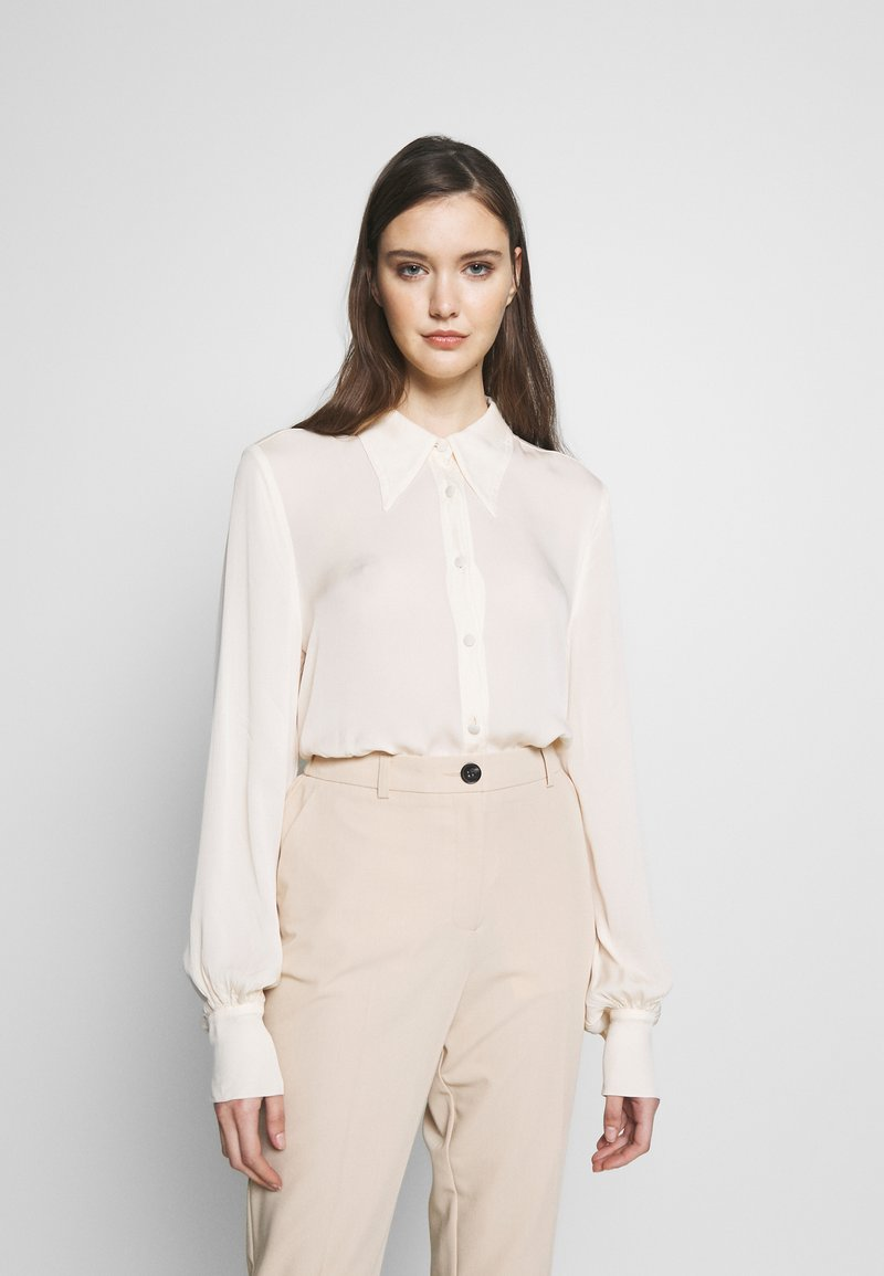 Ghost - BLOUSE - Button-down blouse - ivory