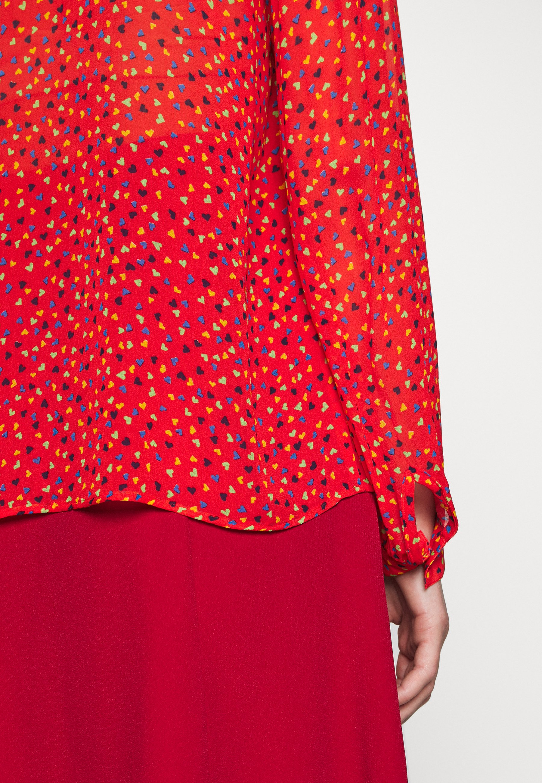 Ghost EMBER BLOUSE - Blouse - red xZYJI