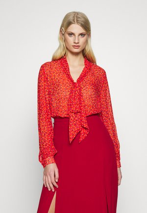 EMBER BLOUSE - Blouse - red
