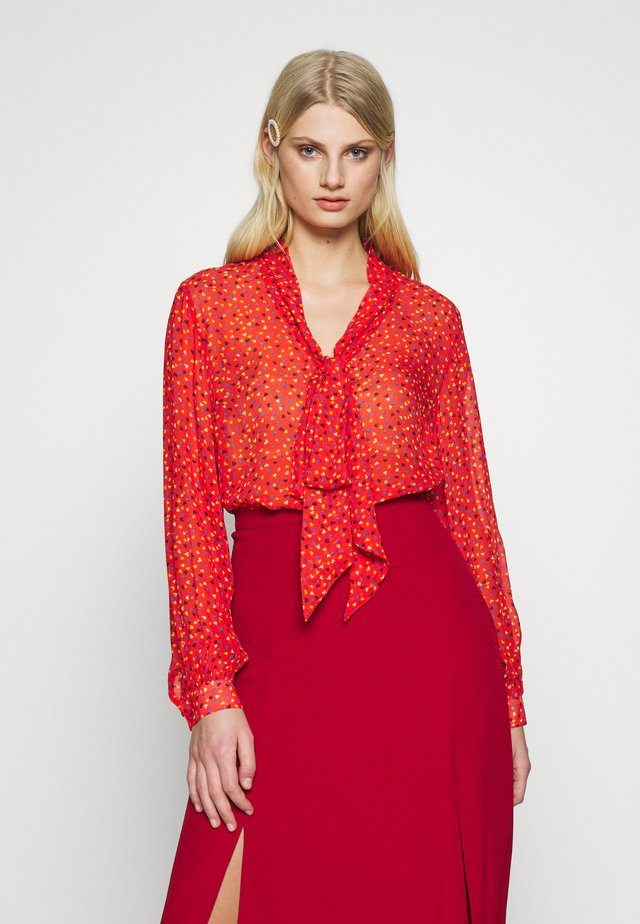 EMBER BLOUSE - Blus - red