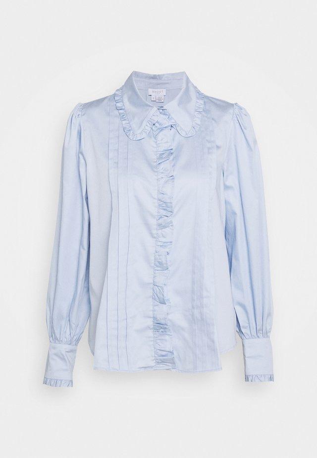 ISABELLA BLOUSE - Button-down blouse - blue