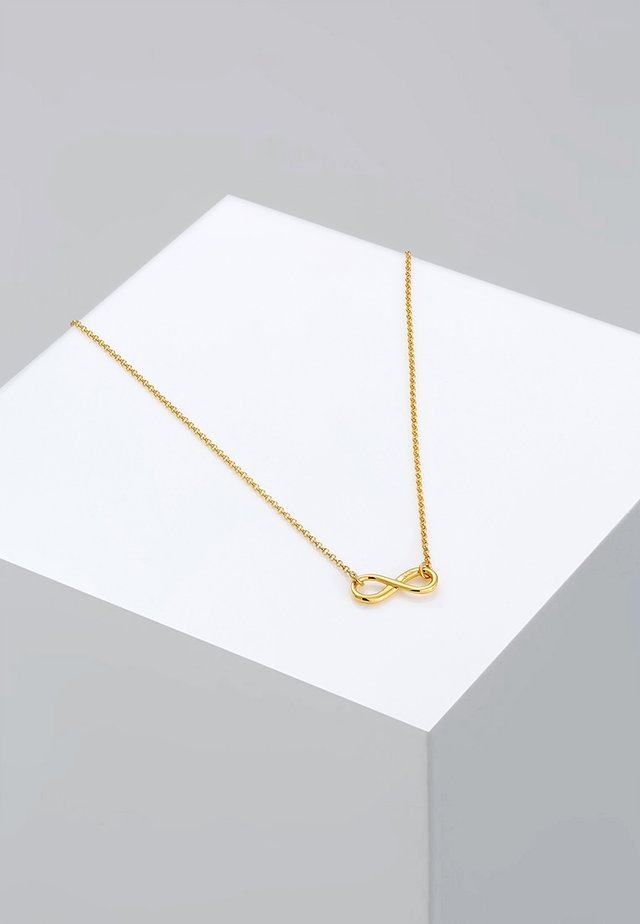 INFINITY - Necklace - gold-coloured