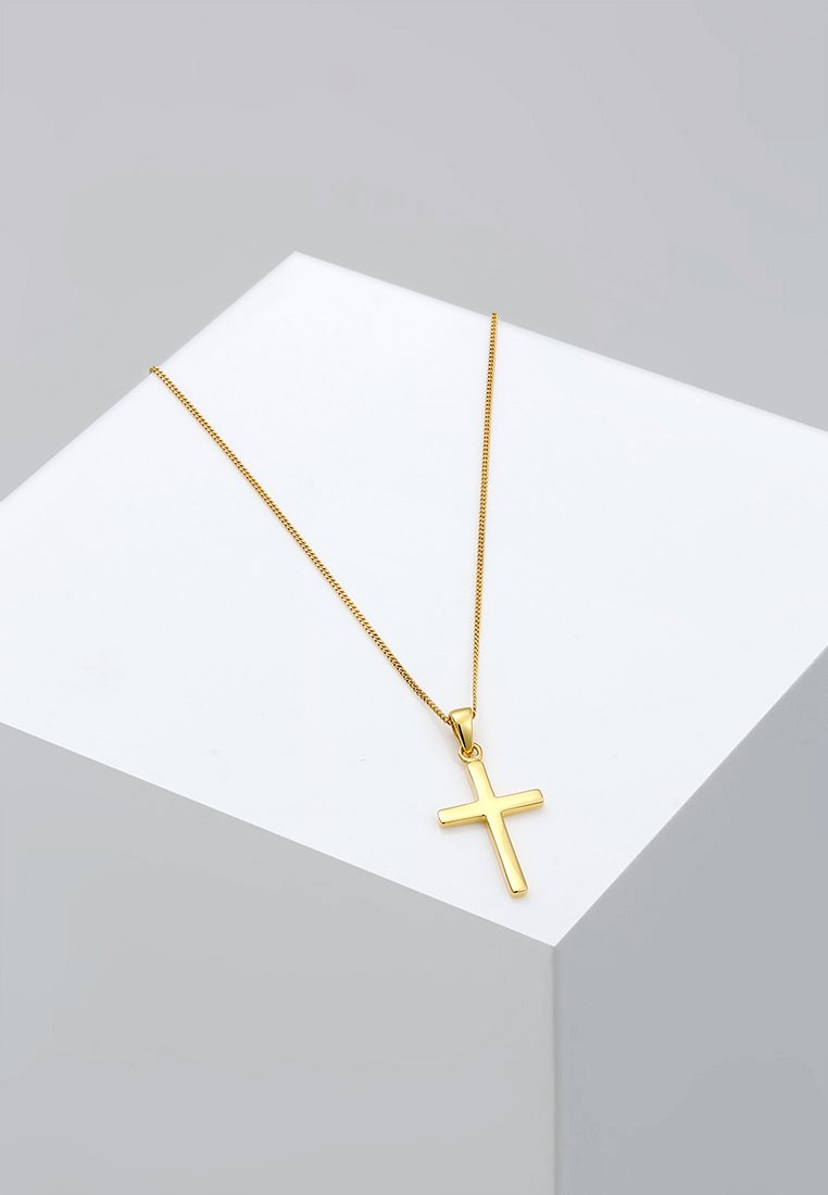 Elli - KREUZ - Necklace - gold-coloured