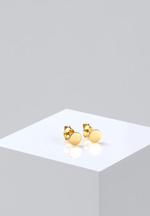 PLÄTTCHEN - Earrings - gold-coloured