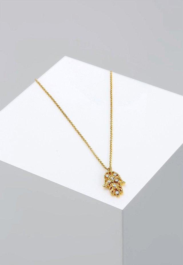 HAMSA-HAND - Kaulakoru - gold