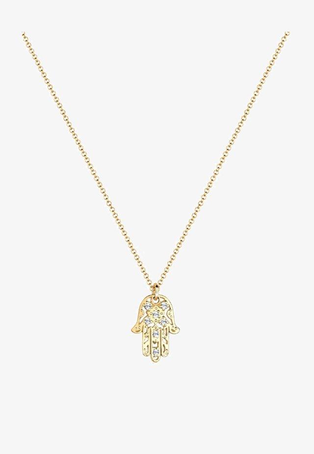 HAMSA-HAND - Halsband - gold