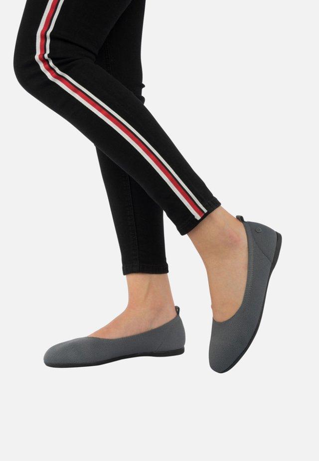 Ballet pumps - slate