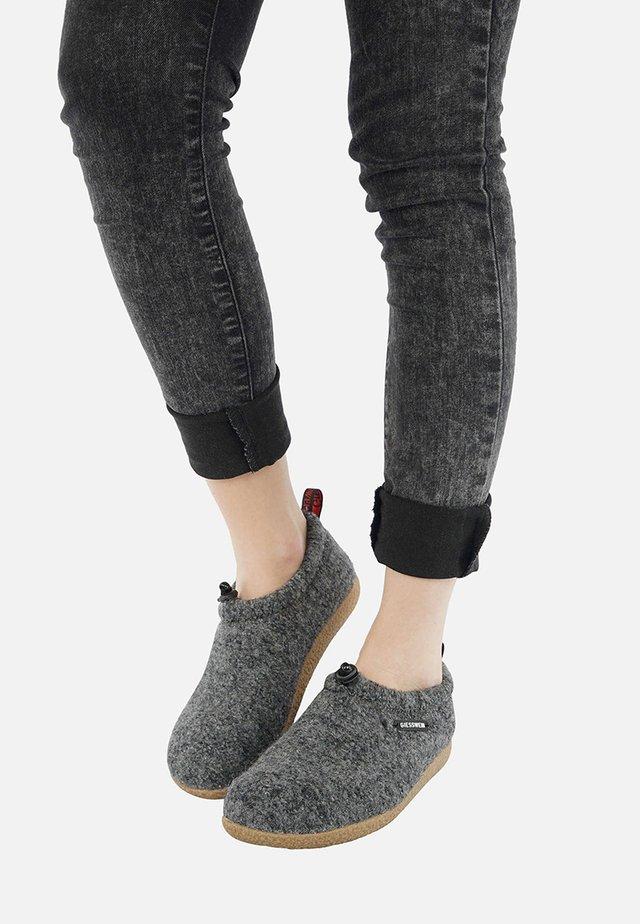 Pantoffels - anthracite