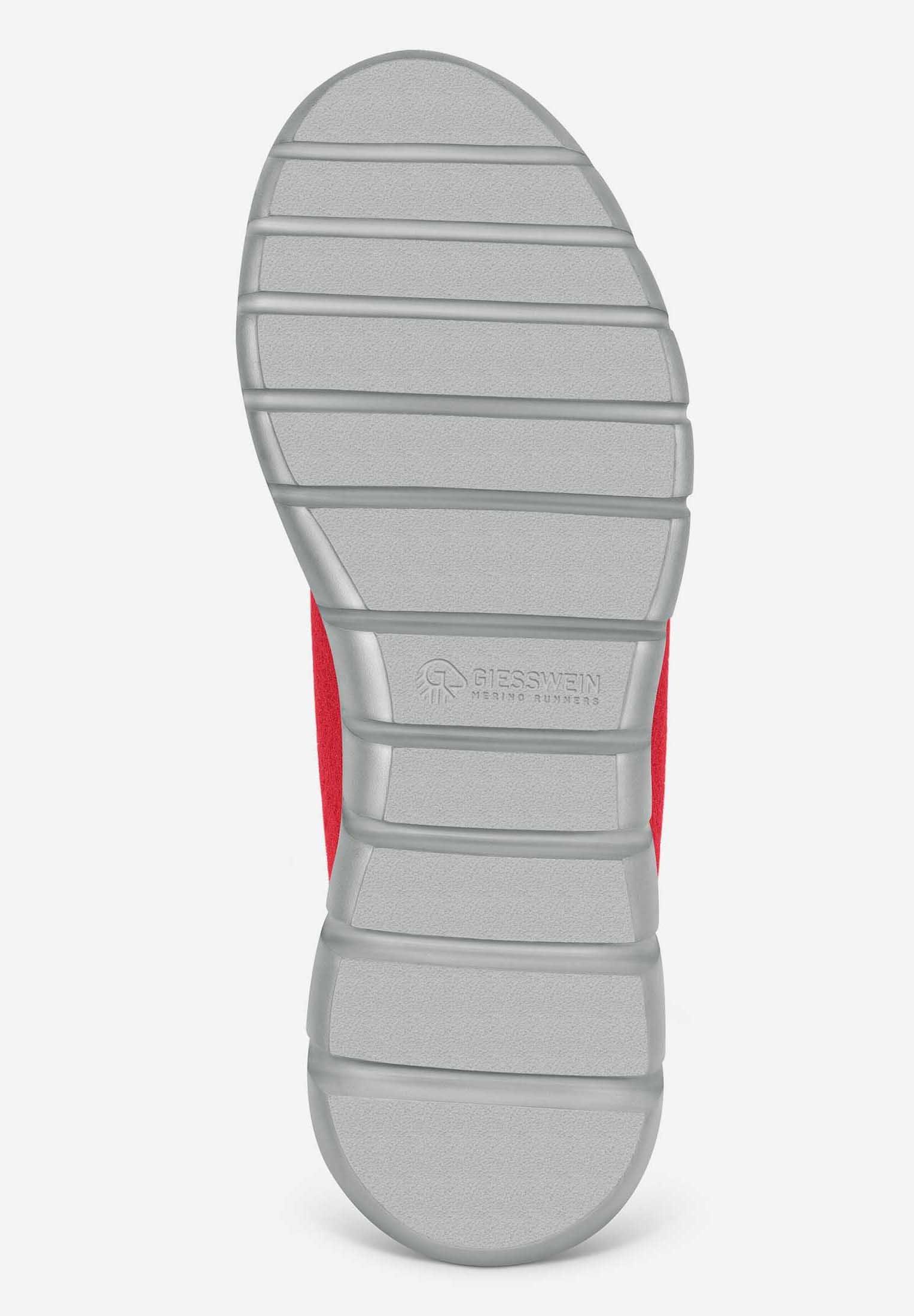 Giesswein MERINO RUNNERS - Sneaker low - red - Black Friday
