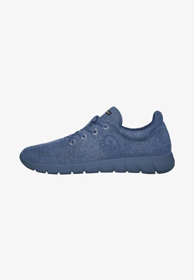 MERINO RUNNERS - Trainers - blue denim