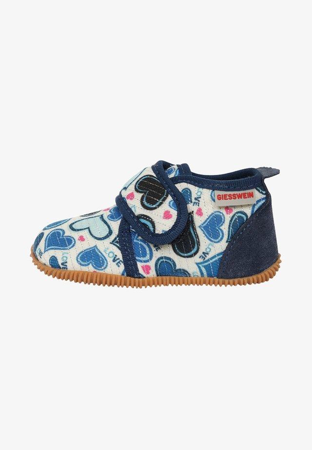 SANITZ - Chaussures à scratch - light blue
