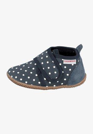 STANS SLIM FIT - Domácí obuv - blue-grey