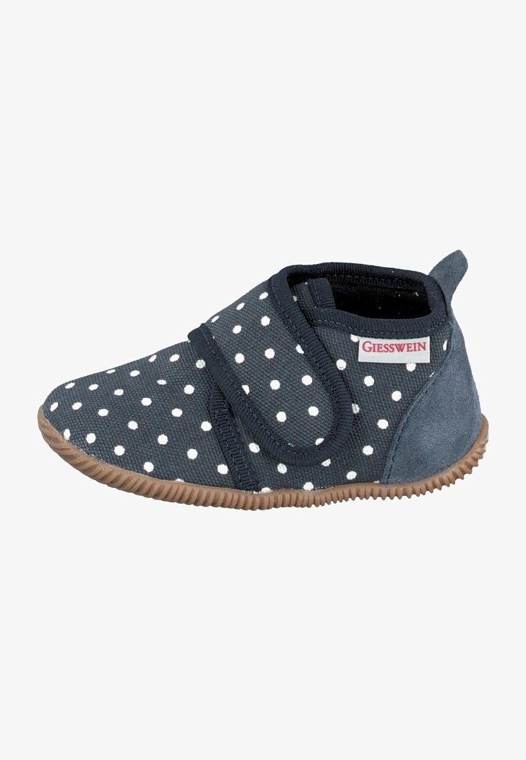 Giesswein - STANS SLIM FIT - Slippers - blue-grey