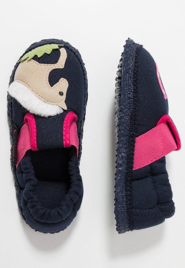 ADELBERG - Domácí obuv - dunkelblau
