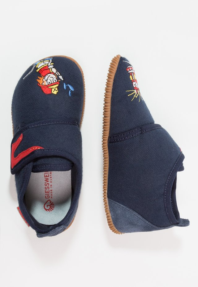 SERFAUS SLIM FIT - Pantofole - bleu foncé