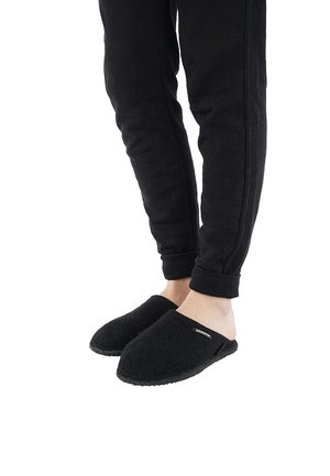 TINO - Pantoffels - schwarz